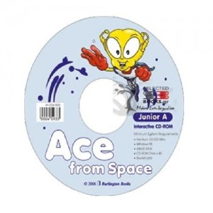 ACE FROM SPACE JUNIOR A CD-ROM